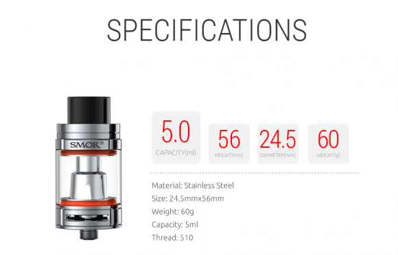 SMOK TFV8 Big Baby Atomizer Kit